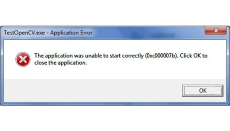 How to fix the application was unable to start (0xc00007b) error in windows