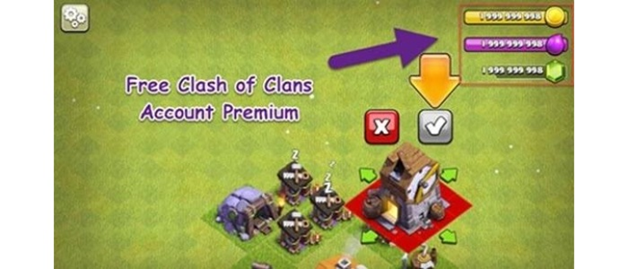 How to get free clash of clans premium account